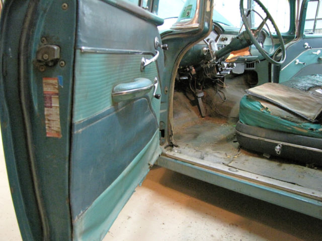 Bel Air Auto Auction >> Chevrolet Bel Air/150/210 4 DOOR SEDAN 1955 2 TONE GREEN ...