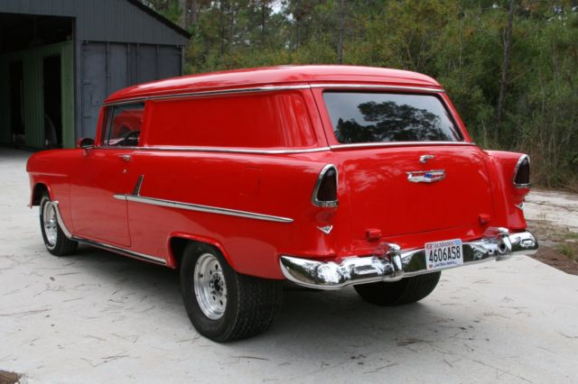 Chevrolet bel air 150 210 wagon 1955 red for sale for 1955 chevy 2 door wagon for sale