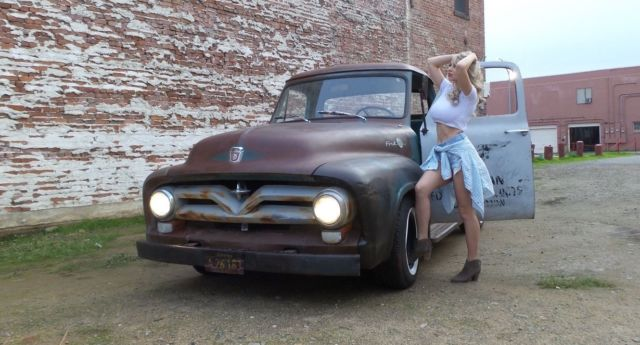 Ford F 100 Cab Amp Chassis 1955 Patina For Sale 1955 Ford