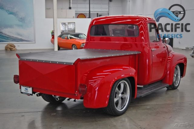 Ford F-100 Pickup Truck 1955 Red For Sale  F10D5L15144 1955