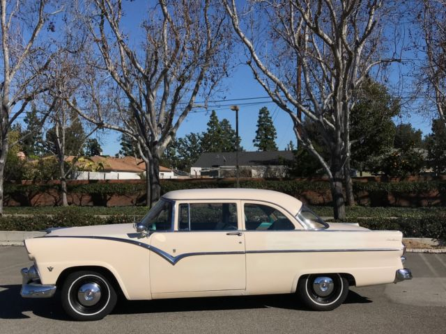 Ford Fairlane 1955 Shoeshoe White For Sale U5lt128858