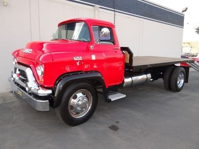 Gmc Other Pickup Truck 1955 Red For 0000000f3558x1308 Conversion Flatbed Tow Full Hydraulics