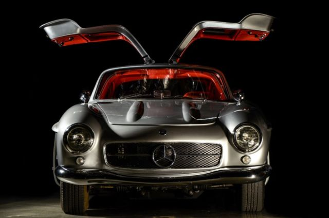 Mercedes Benz Sl Class Coupe 1955 Silver For Sale 1s9gr11t078879005