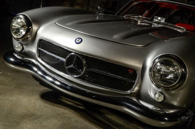 Mercedes benz sl class coupe 1955 silver for sale for 1955 mercedes benz 300sl gullwing for sale
