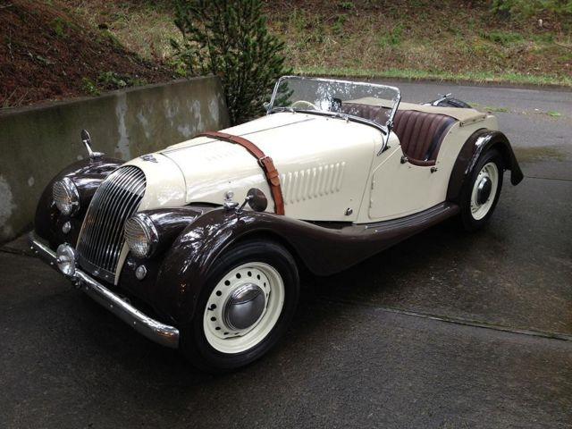 Other Makes MORGAN Plus 4 RHD Roadster Convertible 1955 Tan For Sale ...