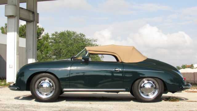 Porsche 356 Convertible 1957 Green For Sale 118747665