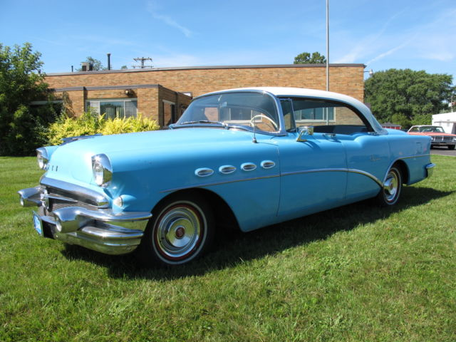 Buick Other Sedan 1956 Blue For Sale 1956 Buick Super Riviera 4