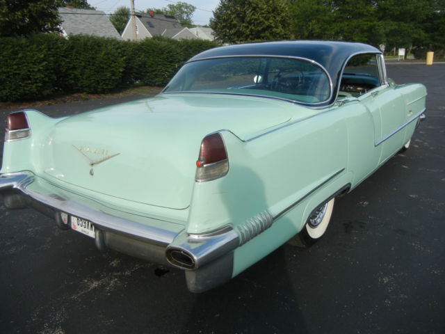 Cadillac deville sedan 1956 mint green for sale for 1956 cadillac 4 door sedan