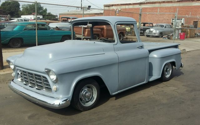 Chevrolet Other Pickups Standard Cab Pickup 1958 Grey For