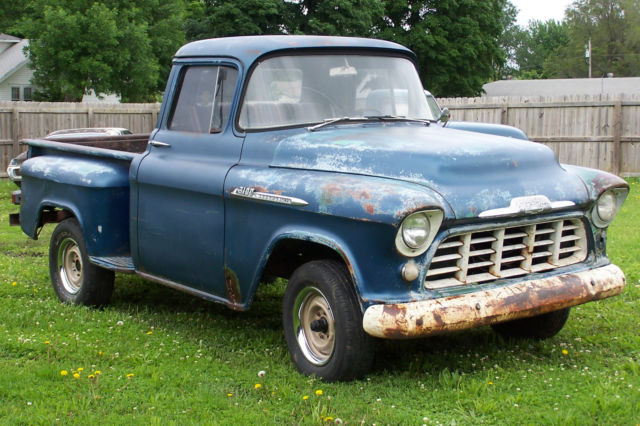 Chevrolet Other Pickups Truck 1956 Blue For Sale