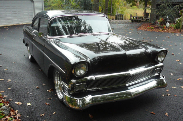 Chevrolet Bel Air150210 Coupe 1956 Black For Sale B56b058219 1956