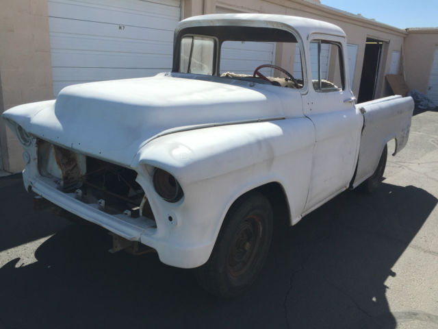 chevrolet other pickups 1956 for sale v3a56k016598 1956 chevy cameo 1 2 ton pickup very rare. Black Bedroom Furniture Sets. Home Design Ideas