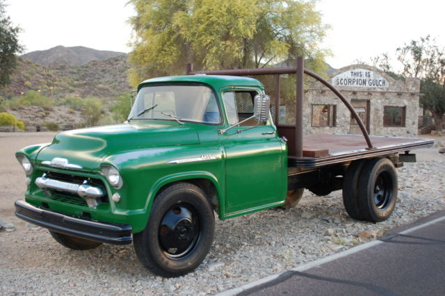 Used Cars Phoenix >> Chevrolet Other Pickups Stake and Platform Flat Bed 1956 John Deere Green For Sale. 0501001F56V ...
