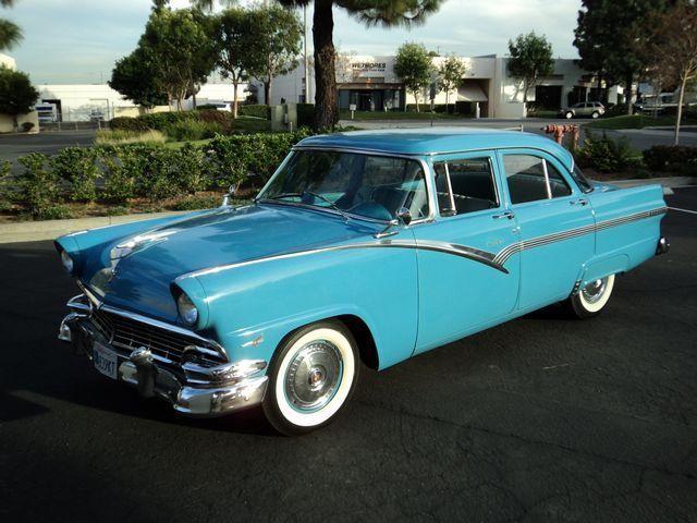 Ford fairlane sedan 1956 blue for sale m6ft253xxx 1956 for 1956 ford fairlane 4 door hardtop