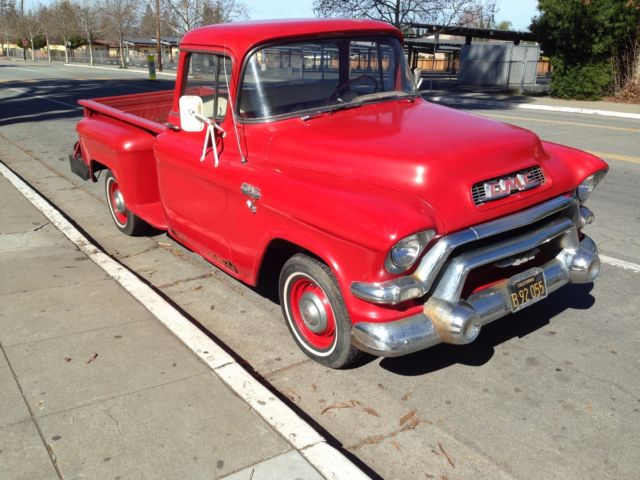 GMC Other Standard Cab Pickup 1956 Red For Sale  A31619461