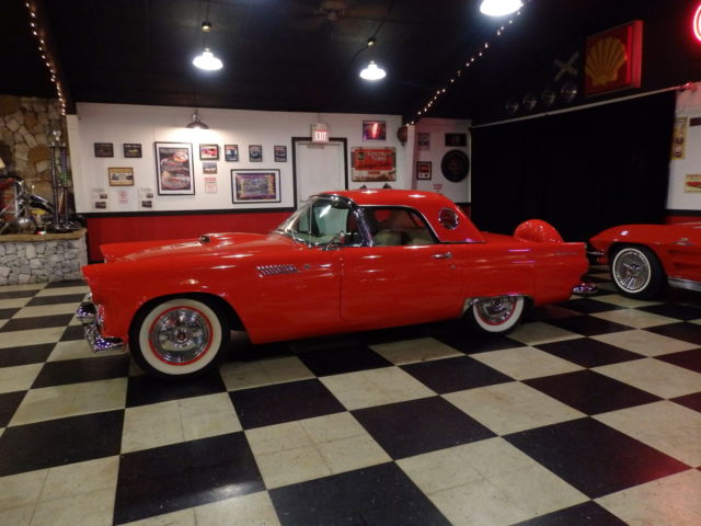 Ford Thunderbird Convertible 1956 Red For Sale. P6PH186212 ...
