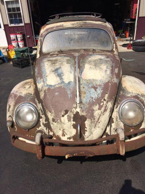 Volkswagen Beetle Classic 1956 Blue For Sale 11055464