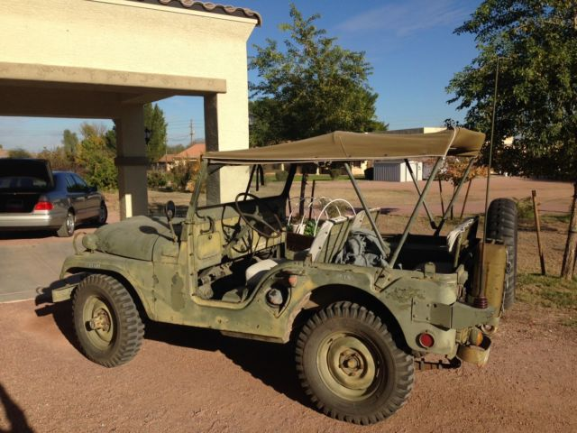 Willys M 38 A1 1956 Olive Green For Sale M38a1 1956
