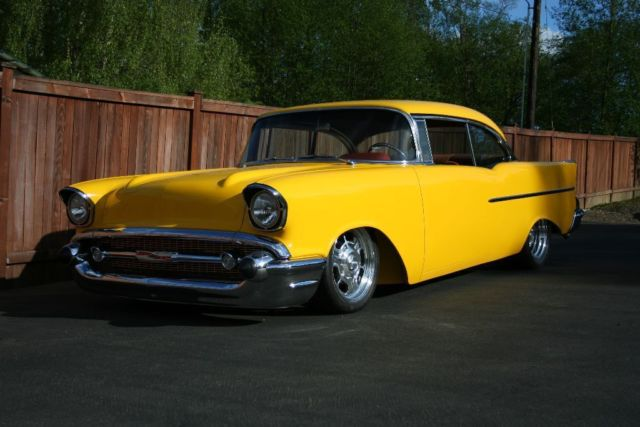Chevrolet Bel Air150210 Coupe 1957 Yellow For Sale Vc570150160