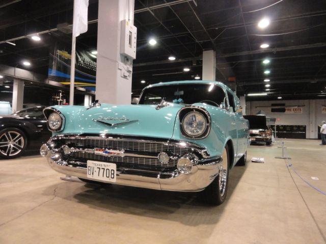 Chevrolet Bel Air/150/210 1957 trop turq For Sale