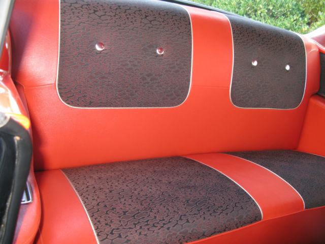 Chevrolet Bel Air 150 210 2 Door Hard Top 1957 Black For