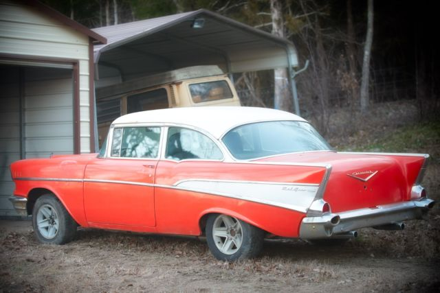 Chevrolet Bel Air150210 Coupe 1957 Red For Sale 1957 Chevy Bel