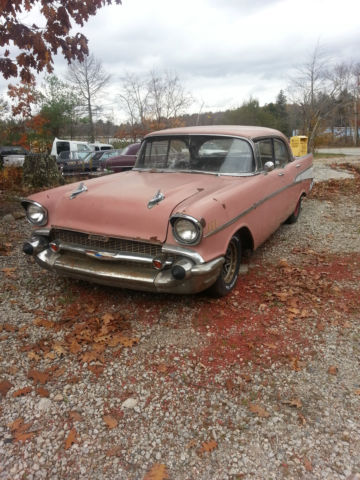 Chevrolet Bel Air150210 Coupe 1957 Pink For Sale Vc57a181504 1957