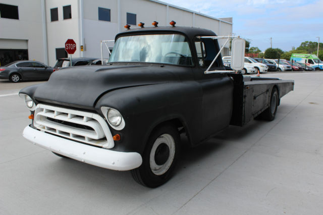 Chevrolet Other 1957 Black For Sale 3e57f110656 1957 Chevy Ramp Truck
