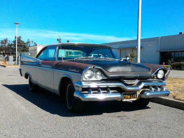 Dodge Lancer 2 Door Hard Top 1957 Brown & White For Sale ...  Dodge Lancer 2 ...