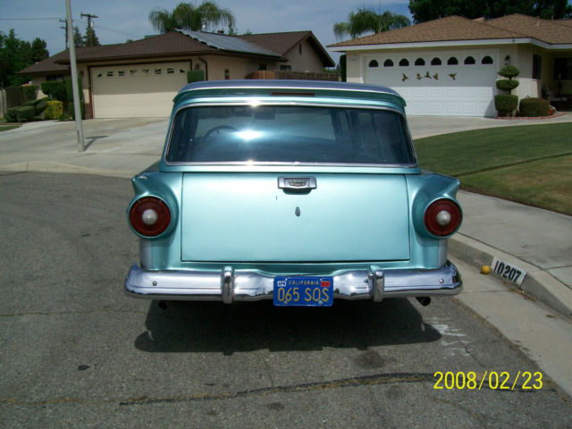 Ford Other Wagon 1957 Green AND SILVER For Sale  1957 FORD DEL RIO 2
