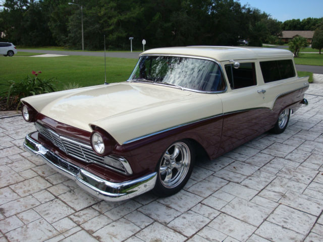 Ford Other Wagon 1957 Burg Off White For Sale 1957 Ford