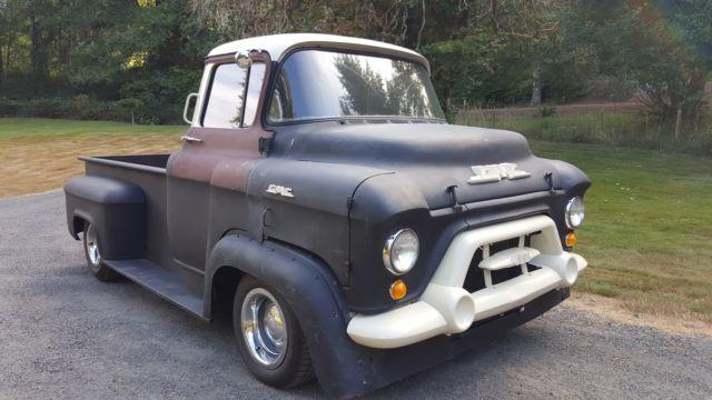 gmc other standard cab pickup 1957 black for sale 1957 gmc coe chevrolet truck hot rat rod. Black Bedroom Furniture Sets. Home Design Ideas