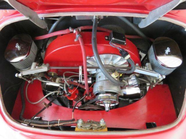 Porsche 356 Convertible 1957 Red For Sale  NCS93793 1957 Porsche 356