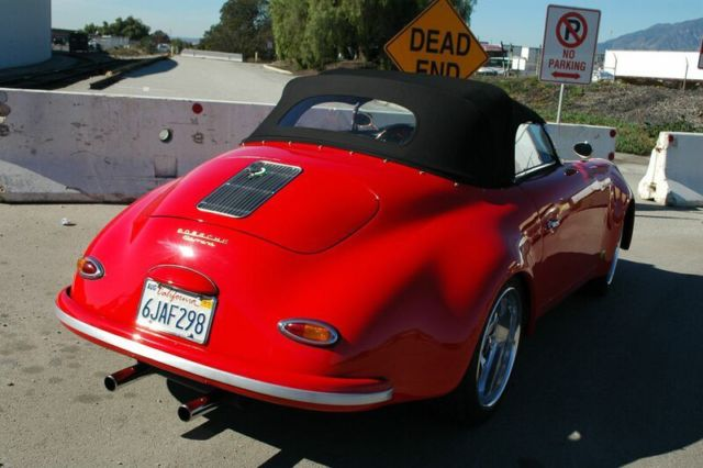 Porsche 356 Convertible 1957 Red For Sale 1957 Porsche
