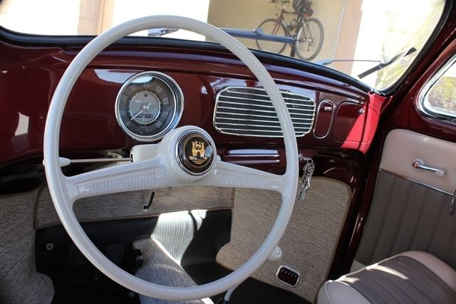 Cars For Sale In Orlando >> Volkswagen Beetle - Classic Sliding roof 1957 Burgundy For ...