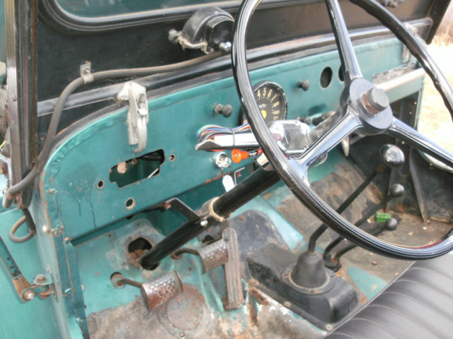 Willys Cj3b Jeep 1957 Green For Sale  1957 Willys Cj3b