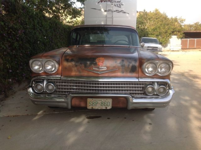 Santa Paula Chevy >> Chevrolet Impala 2 Door 1958 Sierra Gold For Sale. 1958 ...