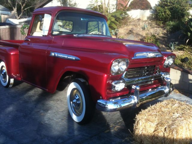 Chevrolet Other Pickups 1958 Metallic Old School Red Red