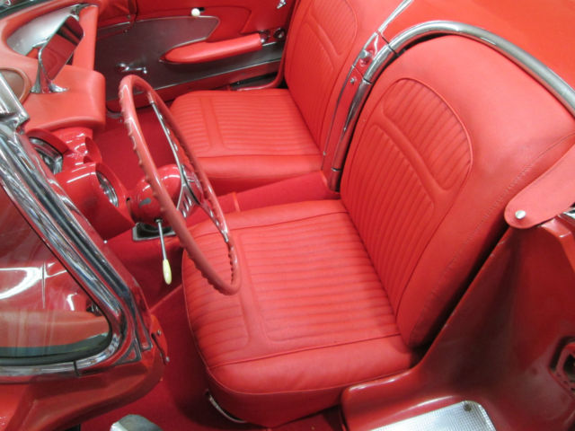 Chevrolet Corvette Convertible 1958 Red For Sale  J58S102539 1958