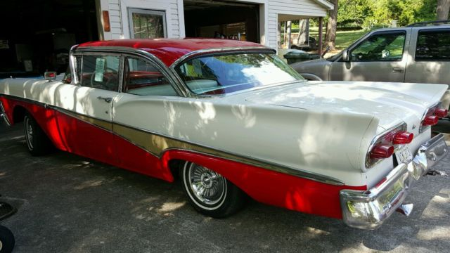 Classic Ford Madison >> Ford Fairlane Coupe 1958 Red/White For Sale. G8LT102436 ...