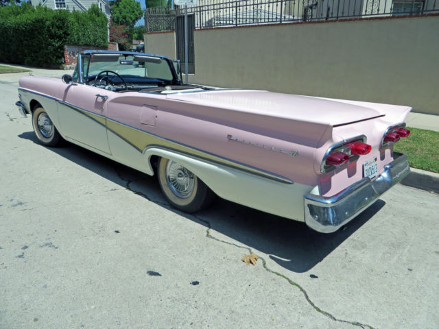 For Sale 1958 Ford Fairlane Skyliner Hardtop Convertible