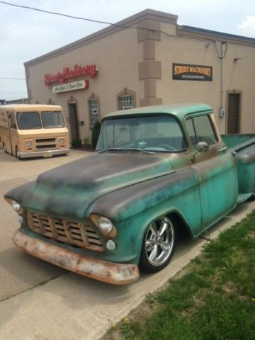 Chevrolet other pickups standard cab pickup 1959 aqua for for 1955 chevy big window for sale