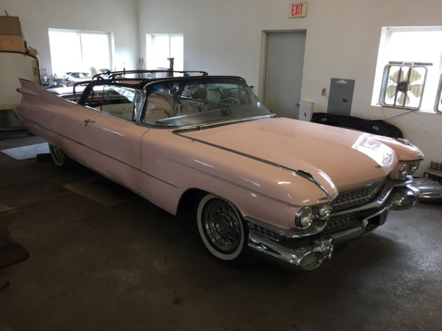 Cadillac Deville 1959 For Sale 1959 Cadillac Convertible Bid To Own