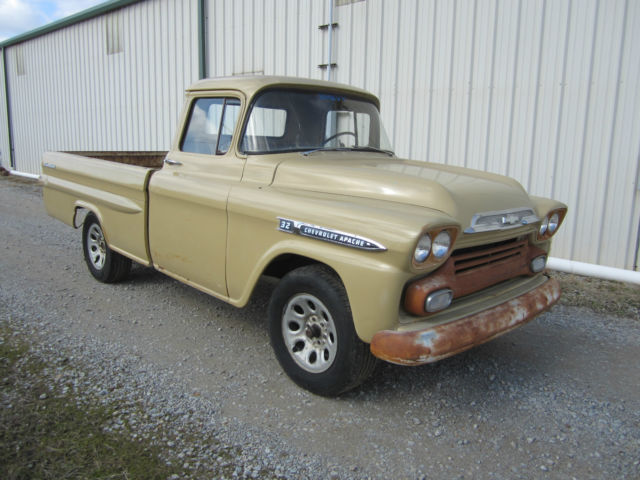 Chevrolet Other Pickups 1959 For Sale 1959 Chevrolet Apache 32