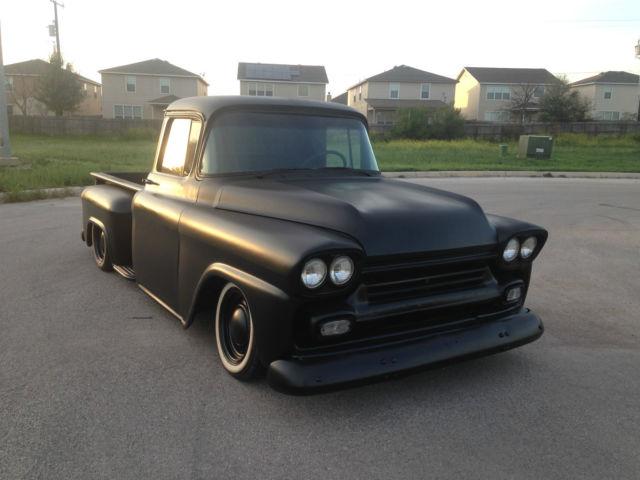 Chevrolet Other Pickups Standard Cab Pickup 1959 Black For Sale