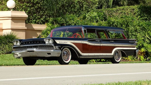 mercury colony park station wagon station wagon 19590000. Black Bedroom Furniture Sets. Home Design Ideas
