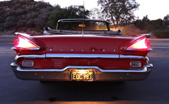 Mercury Monterey Convertible 1959 red and white For Sale ...