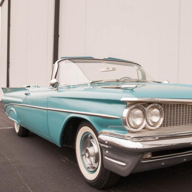 1959 Pontiac Catalina Convertible Rare Car Highly Original 389 V8 Top