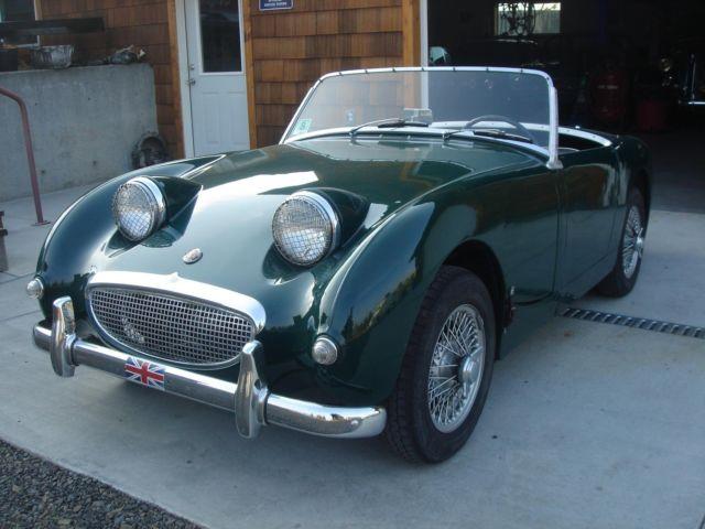 austin healey sprite roadster 1960 british racing green for sale an5l 26641 1960 austin. Black Bedroom Furniture Sets. Home Design Ideas