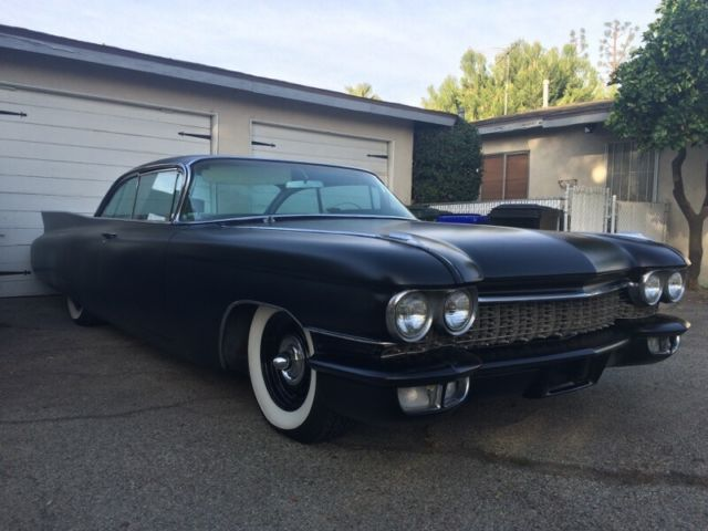 1960 Cadillac Coupe Deville For Sale: Cadillac DeVille Coupe 1960 Matte Black For Sale. 1960